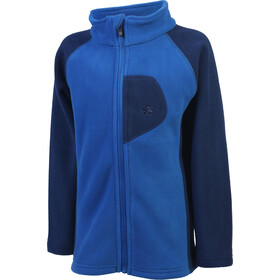 Color Kids Rafting 2 Face Fleece Jack Kinderen, princess blue
